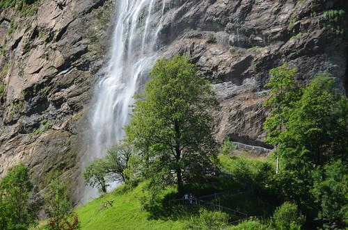 Staubbachfall,Lauterbrunnen,Switzerland
