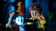 """What is this thing?"" #LEGO #STARWARS (Alan Rappa) Tags: afol moc r0gr lego legobricks legominifigures legophotography minifigs minifigures rowan sonya6300 starwars thefreemakeradventures toys tweetme"