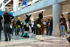FCParade2017_03_-20170114-00043 (Kory / Leo Nardo) Tags: fur furry fursuit suiting dance party dj con convention further confusion fc san jose marriott center parade walk march fc2017 2017 pupleo kory