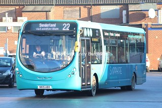 Arriva North East - 1600 (NK15ABX)