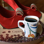shoeing the coffee... thumbnail
