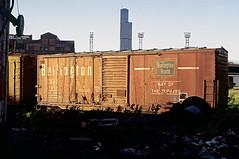CB&Q  Class XM-2A 41653 (Chuck Zeiler) Tags: cbq 41653 burlington railroad box car boxcar freight chicago chz class xm2a chuck zeiler