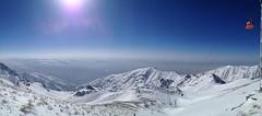 (mahyar hejazi) Tags: ایران iran tehran snow tochal ski resort sky sun blue telecabin توچال اسكي تله كابين تهران sunshine schnee berg landshaft himmel landschaft mahyar hajazi