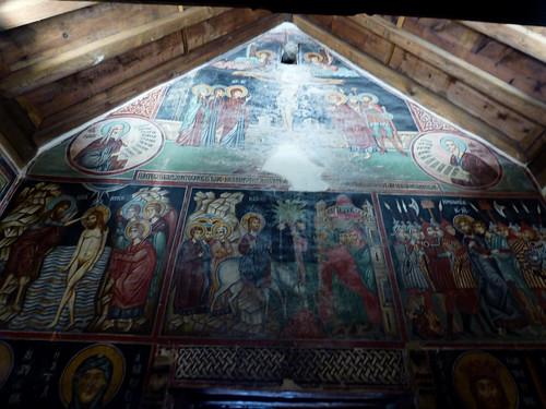 Pedoulas - Church of Archangelos Michail, interior frescoes