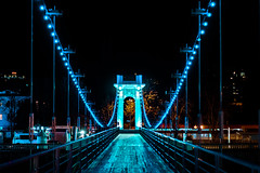Bridge (DVchigarev) Tags: sochi bridge dslr digital neon lights colors canon 70d canon70d canonphotography sigma sigma35mm 35mm 14 art hsm lightroom outdoor nopeople
