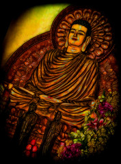 Buddha Glow (Neville Wootton Photography) Tags: buddhas glow holidays interiors mangojouneys saigon temples topazlabs vietnam