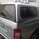 Crown canopy for SsangYong Actyon ute