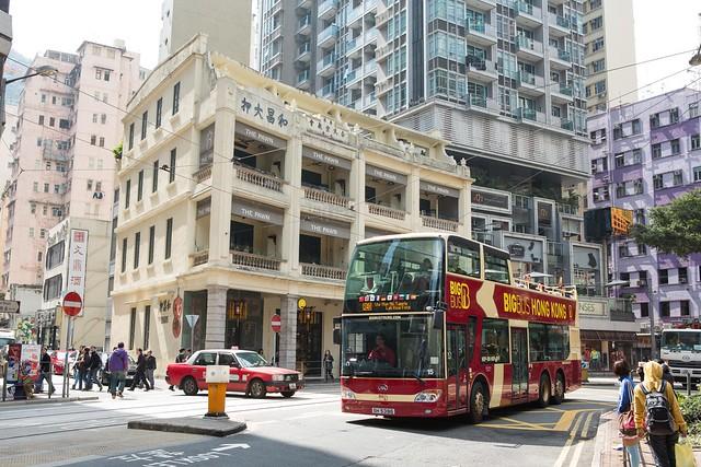 香港ビッグバスツアー