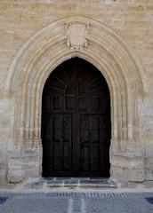 Astudillo (Palencia). Convento de Santa Clara. Portada de la iglesia (santi abella) Tags: españa palencia castillayleón astudillo