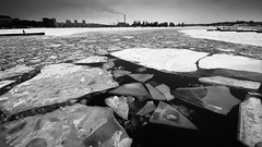 * (Timos L) Tags: winter bw plant ice broken finland helsinki power harbour smoke sony sigma 1020 hydroelectric a700 timosl