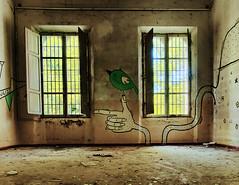 Ex Manicomio di Volterra (Denis Gonzaga) Tags: urban abandoned urbandecay volterra pisa forgotten toscana hdr matti manicomio psychiatrichospital pazzi urbex madhouse pazzia abbandonato abandonbuilding exmanicomio nex6