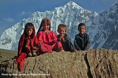 Children's of  Broghil Valley- Photo by Bilal Javaid