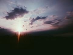 """""""Azul Óxido"""". (yamircuevas) Tags: blue sunset summer sky cloud sun sol méxico clouds landscape atardecer afternoon sunsets nubes puestadesol veracruz scape pozarica"""