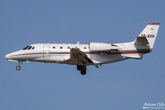 NetJets --- Cessna 560XL Citation XLS --- CS-DXH (Drinu C) Tags: plane aircraft aviation sony dsc cessna citation mla netjets bizjet privatejet xls 560xl csdxh lmml hx100v adrianciliaphotography