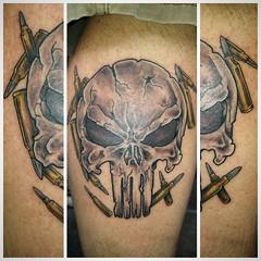 Punisher tattoo