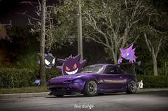 HalloweenMiata (nardomjn) Tags: halloween pokemon miata mazdamiata clubroadster mazdafitment topmiata miatagang fittedmazdas