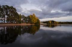 Syksyn vrit (Basri Ahmedov) Tags: sky water suomi finland fujifilm 12mm syksy lohja silta vrit samyang xt1 liessaari