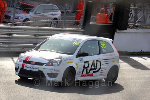 Richard Crisp in the Fiesta Junior Championship, Brands Hatch, 2015