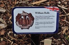 Company Sergeant Major William Rolls ist Battn Essex Home Guard plaque (Richard.Crockett 64) Tags: plaque memorial ww2 britisharmy essex memorialpark worldwartwo wickford 2015 homeguard essexregiment companysergeantmajor williamjohnhenryrolls