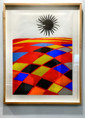 Alexander Calder's Black Sun (SteveMather) Tags: ohio usa cleveland calder oh alexander blacksun lithograph 2015