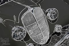 1938 Delahaye 135 MS Coupe by Figoni & Falaschi at Amelia Island 2015 (gswetsky) Tags: classic sports french island european antique amelia concours delahaye ccca delegance figoni falaschi 135ms