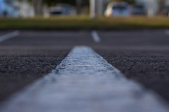 Thin Line of Focus (Vimlossus) Tags: road focus pavement line thin