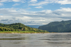 Landscapes from the river (tatlmt) Tags: cruise river landscapes boat asia slow beng laos mekong pak xai huay
