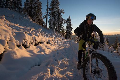Garibaldi first snow and Paul Ridge Fat Bike ride Nov 3 2015-8