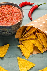 mexican food (Food Photography Studio) Tags: food mexican appetizer chilli hotsauce nachos