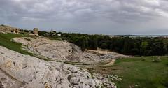 Archaeological Park Neapolis, Siracusa, Italy (Flavio~) Tags: day2 italy sicily archeologicalpark greektheater neapolis oct2015 syracusaortigia