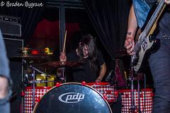 D7K_2334 CC (Braden Bygrave) Tags: show toronto rock drums concert lowlight nikon drum bass guitar flash crowd singer bassist drummer nikonphotography d7100 nikonphoto yn460 nikond7100