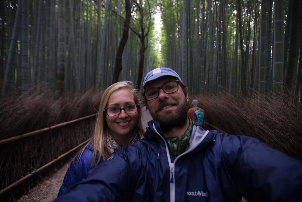 P&P at the bamboo forest