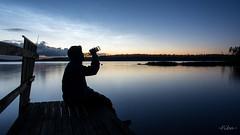 Jallu (-Fiba-) Tags: lake night finland pier nikon glow drink sysmä jaloviina d7100 sigma1750f28os