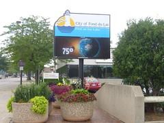 Signarama Fond du Lac, WI | Electronic Message Center |