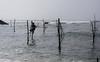 Stick fishing (runovv) Tags: srilanka asia nature sky seaside sea fishing hindu water ocean