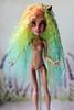 repaint monster high (Emerald_Fairy) Tags: ooakdoll ooak ooakdolls ooakhowleen doll monster monsterhigh dollphotography monsterhighooak dollartist howleen