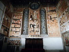 """The Last Judgement"" - frescoes (about 1320) by Pietro Cavallini's follower on his project - Donnaregina Vecchia Church-Museum in Naples (Carlo Raso) Tags: donnaregina lastjudgement pietrocavallini naples italy judgment"