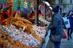 Manchester Christmas Markets 2016 - lots of garlic (Tony Worrall) Tags: manchesterchristmasmarkets2016 manchester christmas markets 2016 england northern uk update place location north visit area county attraction open stream tour country welovethenorth northwest unitedkingdom gmr manc city event outside urban candid people shop shoppers stalls gifts xmas buy sell bought annual