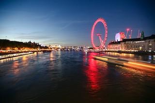Thames at night