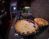 Apple or blueberry? (_Matt_T_) Tags: 331 rokinon8mmf35 pie dessert dinner kitchen fisheye