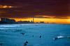 Surfers at sunset - Tel-Aviv beach (Lior. L) Tags: surfersatsunsettelavivbeach surfers sunset telaviv beach surfersatsunset telavivbeach sea seascapes travel travelinisrael israel surfing surf landscape sky clouds cloudysunset skyline