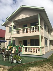 The guesthouse i stayed at in Nuku alofa!
