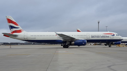 G-EUXE British Airways Airbus A321-
