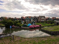 Marken - Holland (GiorgiaIan) Tags: marken amsterdam holland netherlands houses reflection architecture lake travel explore photo photography olympus landscape view discover sun