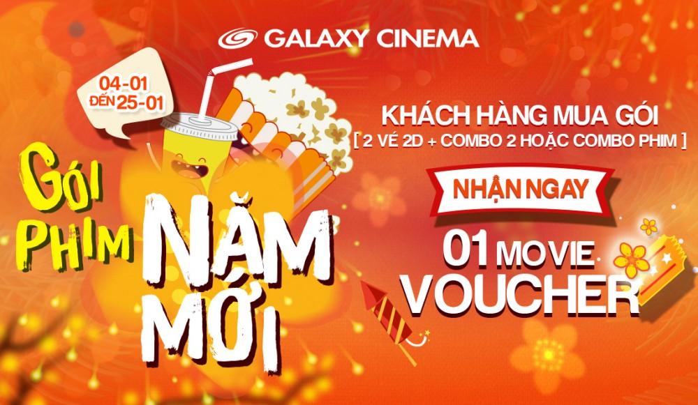 Hà Nội | Gói phim năm mới - Tặng vé xem phim