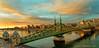 JW_Budapest_12_26_16_58 (HarrySchue) Tags: budapest europe hungary danube river gellerthill gellerthotel sunrise clouds nikon d800e gellertbaths cityscape