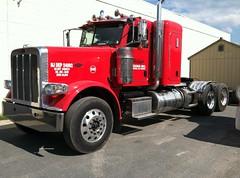"Wilkie Trucking 2014 Peterbilt 389 44"" flat top sleeper tractor - truck No. 240 (JMK40) Tags: peterbilt 389 paccar mx wilkietrucking nj tractor truck"