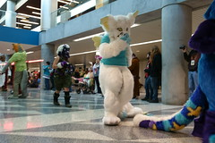 FCParade2017_03_-20170114-00055 (Kory / Leo Nardo) Tags: fur furry fursuit suiting dance party dj con convention further confusion fc san jose marriott center parade walk march fc2017 2017 pupleo kory
