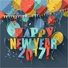 free vector Happy New year 2017 Celebration With Balloons Party Greeting Card (cgvector) Tags: 2017 3d abstract background ballon banner blue card carnival celebrate celebration colorful confetti countdown creative date december decoration design entertainment eve event festival festive fun greetings happiness happy holiday invitation new newyear orange paper party poster red ribbon surprise text type typography vacation vector wallpaper white wishes xmas year years yellow