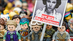 """We Rebel"" #LEGO #STARWARS #WomansMarch (Alan Rappa) Tags: afol cmf moc astarwarsstory batman lego legobricks legominifigures legophotography minifigs minifigures protest rebels rogueone rougeone sonya6300 starwars thefreemakeradventures toys tweetme womansmarch"